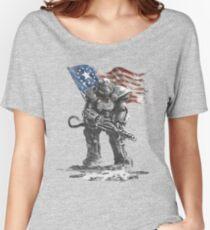 Fallout power armour suit Women's Relaxed Fit T-Shirt