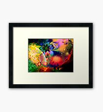 Heavenly Romance  Framed Print