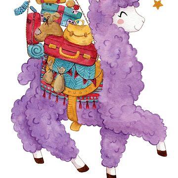 Alpaca your bags by clockworkkite