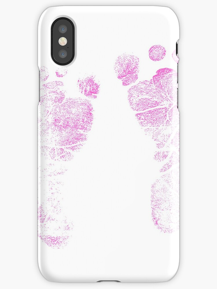 pink baby footprints adorable baby feet perfect for new baby girl