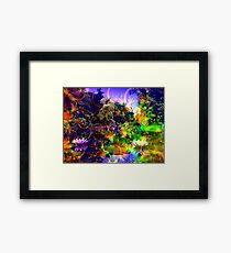 Garden of Paradise Framed Print