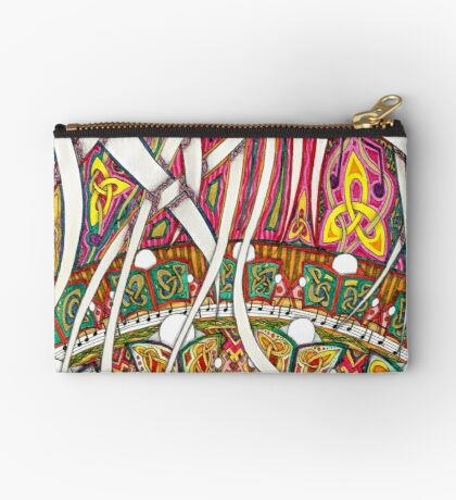 Merrily on High Studio Pouch