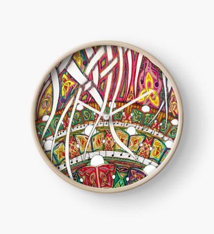Merrily on High Clock