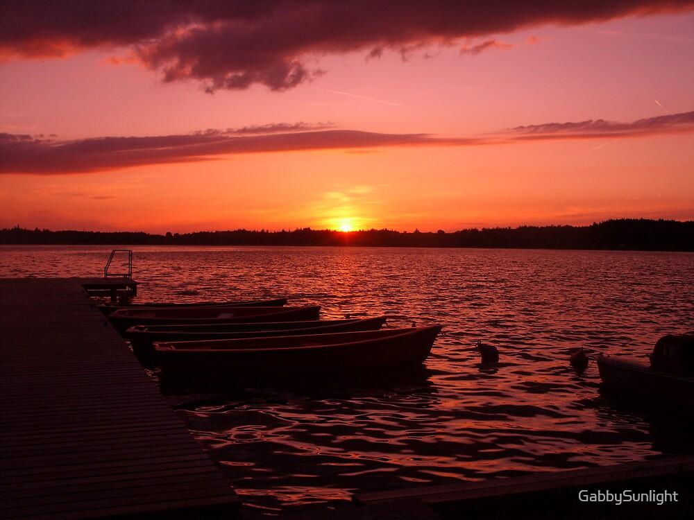 Sundown by GabbySunlight