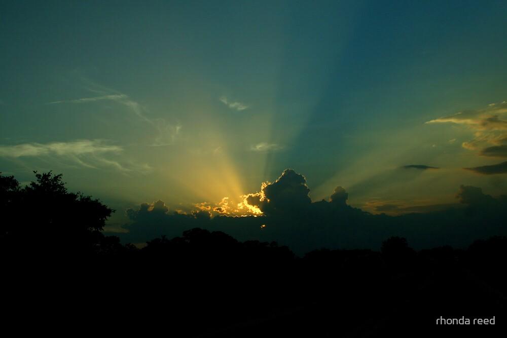 Sunset by rhonda reed