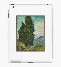 Vincent van Gogh Cypresses iPad Case/Skin
