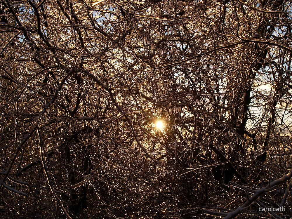 Peeking Sun by carolcath