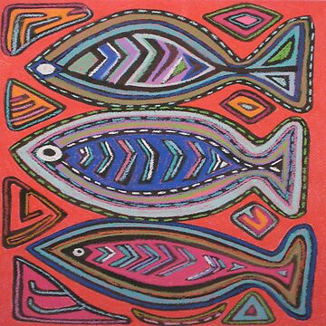 Three Fish by LindaElksnin