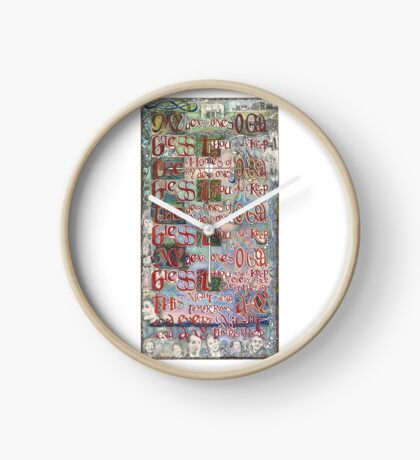 My Dear Ones Clock