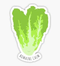 Romaine Calm Sticker