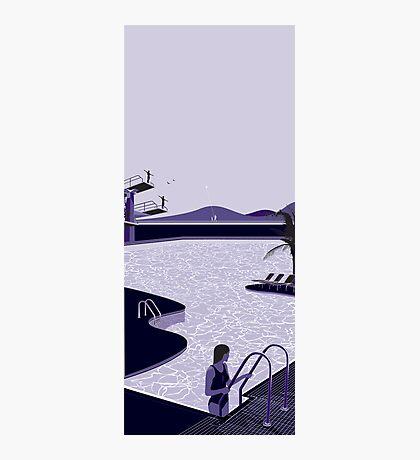 Poolside Blues Photographic Print