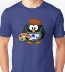 Painter Penguin Unisex T-Shirt