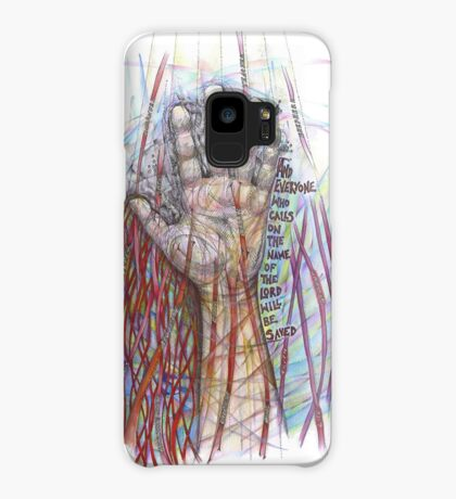 The Name of the Lord (All who Call) Case/Skin for Samsung Galaxy