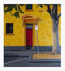 Private Club, 2012. Oil on Linen, 84X76cm. Photographic Print