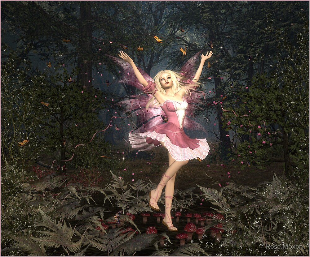 Fairie Dance by Rose Moxon