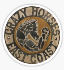 Crazy Horses Gang Sticker