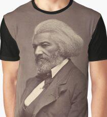 Frederick Douglass: Matthew B. Brady, 1880 Graphic T-Shirt
