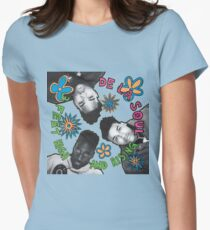 De La Soul - 3 Feet High and Rising Womens Fitted T-Shirt