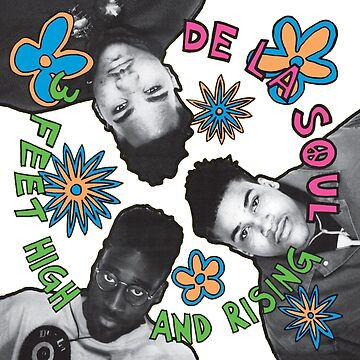 De La Soul - 3 Feet High and Rising by Wyllydd