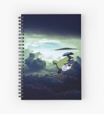 Flying Totoro Spiral Notebook