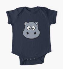 Baby Hippo One Piece - Short Sleeve