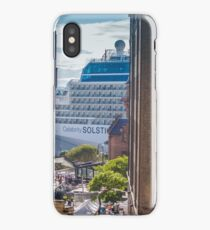 Between Buildings iPhone Case/Skin