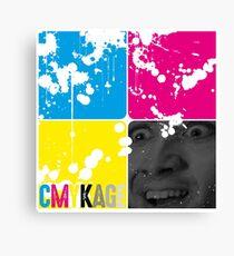 CMYKage - Nic Cage CMYK Canvas Print