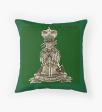 Royal Pioneer Corps old badge Throw Pillow