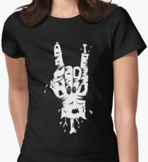 DZ Deathrays Zombie Womens Fitted T-Shirt
