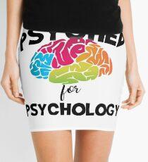 I Get Psyched For Psychology Mini Skirt