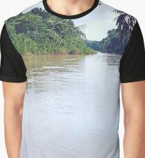 Amazonian River Graphic T-Shirt