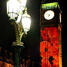 Falling Poppies Big Ben Remembrance Sunday 2014 by Colin  Williams Photography