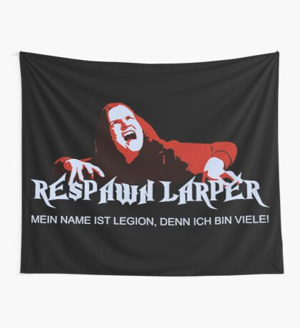 RespawnLARPer - My name is Legion Wall Tapestry