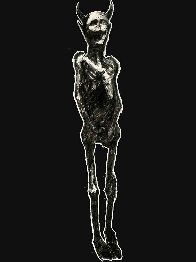 Demon tattoo (Death Grips) by Wyllydd