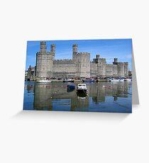 Caernarfon Castle Greeting Card