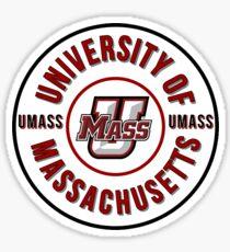 University of Massachusetts - Circle Sticker