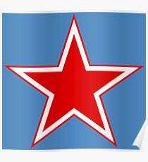 Roundel of the Soviet Air Force Poster