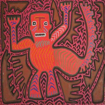 Dragon Man by LindaElksnin