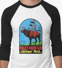 Rocky Mountain National Park Vintage Travel Decal T-Shirt
