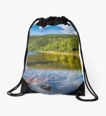 Jordan Pond Drawstring Bag