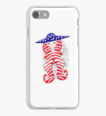 Doll from America (2413 Views) iPhone Case/Skin