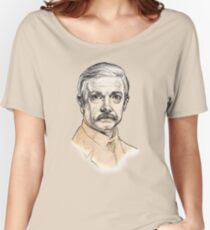Dr John H. Watson - Martin Freeman Portrait Sketch Abominable Bride  Women's Relaxed Fit T-Shirt