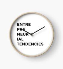 Reloj Tendencias emprendedoras