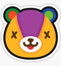 STITCHES ANIMAL CROSSING Sticker