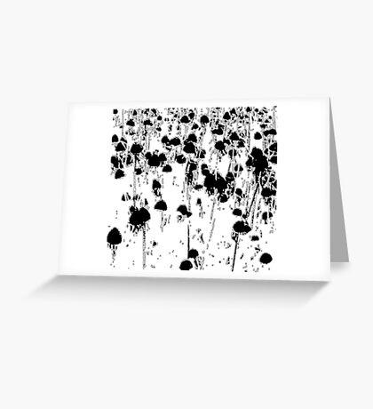 dead heads Greeting Card