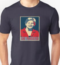 hilarry clinton, she persisted T-Shirt