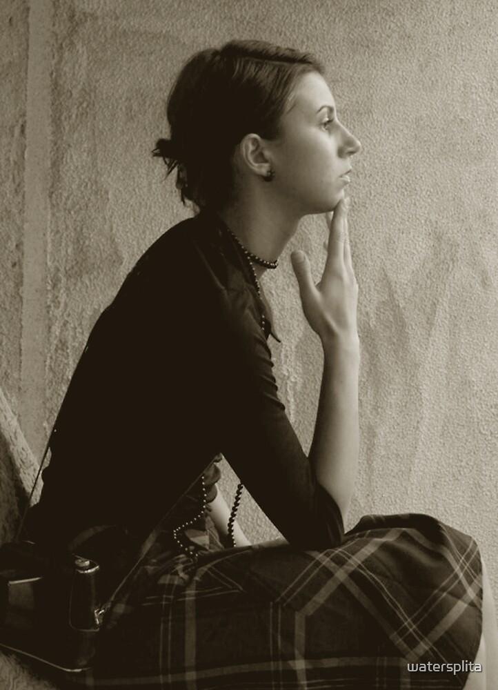 autoportrait by watersplita