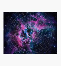 Space star map Photographic Print