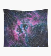 Space star map Wall Tapestry