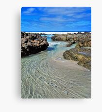 Wave Motion #2 Canvas Print